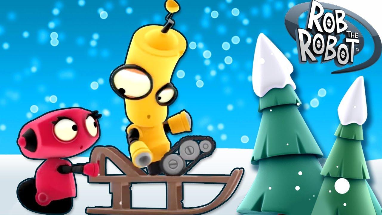 Dibujos Animados  Rob el Robot  A Volar  Caricaturas del