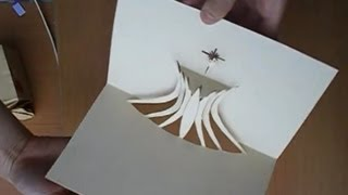 The Cathedral of Brasília Pop Up Card Tutorial, Origamic Architecture