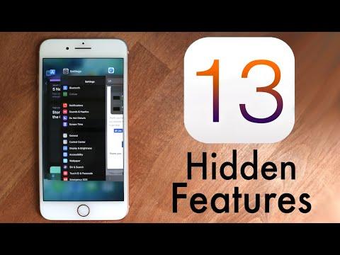 Top 10 HIDDEN Features Of IOS 13!