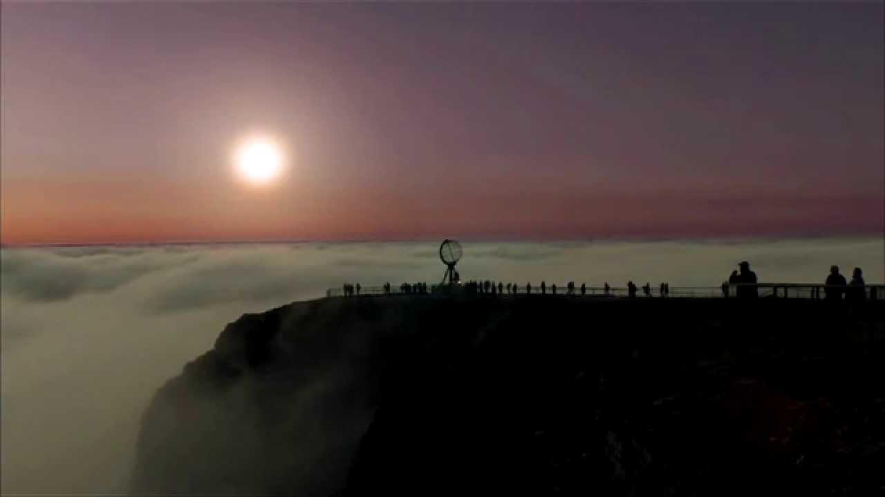 Sol Da Meia Noite Na Noruega Youtube