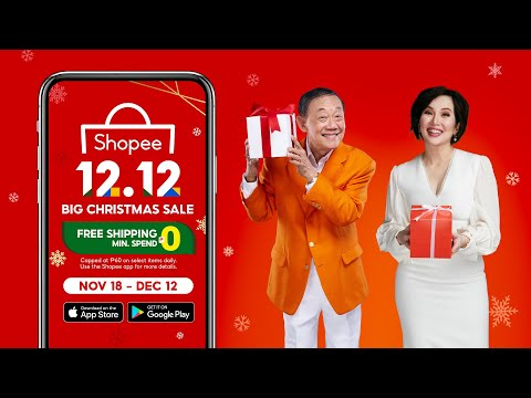 Shopee 12.12 Big Christmas Sale Na!