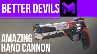Better Devils Review: The Best Legendary Hand Cannon in Destiny 2