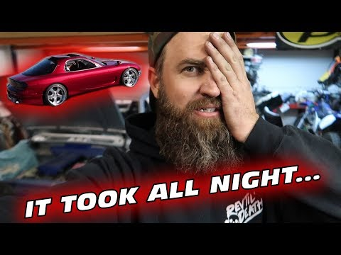STARTING OVER ON THE FD RX-7 PROJECT?!?!....*WE PROMISE IT'S WORTH IT!*