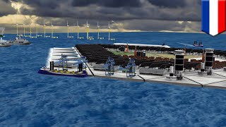 Artificial floating islands tested in Netherlands in order to expand liveable space - TomoNews