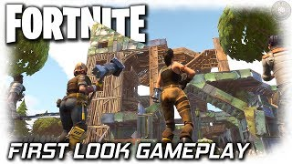 Fortnite PC Gameplay | First Look | Fortnite Gameplay Let
