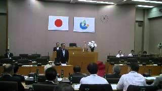 栃木市議会 正副議長選挙