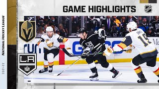 Golden Knights @ Kings 10/14/21 | NHL Highlights