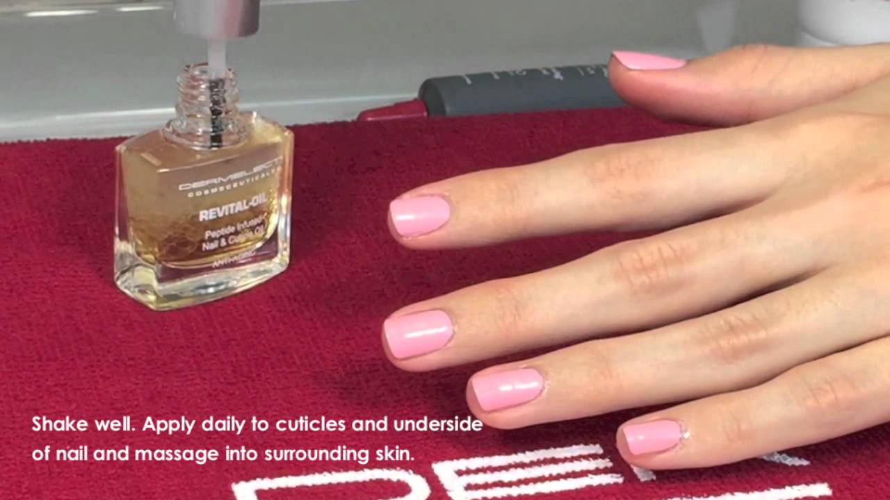 Dermelect Revital-Oil Nail & Cuticle Treatment - YouTube