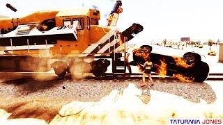 GTA 5 - Hoje eu vou destruir o trem - Parte 5