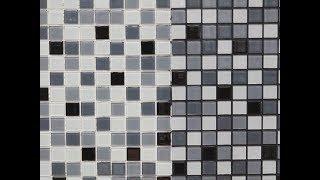 видео Стеклянная мозаика