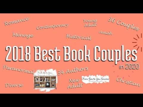 2018 Best Book Couples List (in 2020) & Giveaway