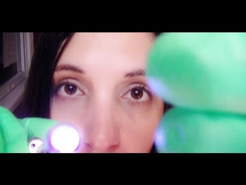 ASMR Eye Examination Role Play for Relaxation