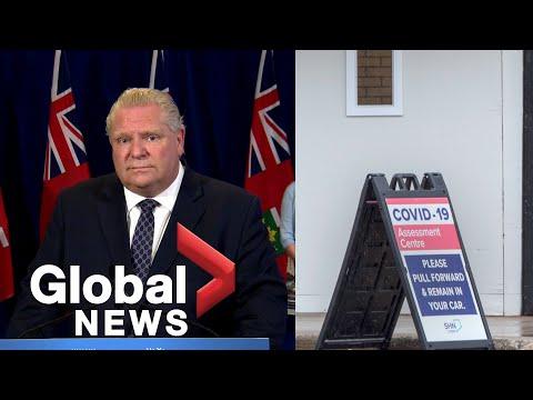 Coronavirus outbreak: Ontario