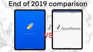 NOTABILITY vs GOODNOTES 5: END of YEAR COMPARISON (2019)
