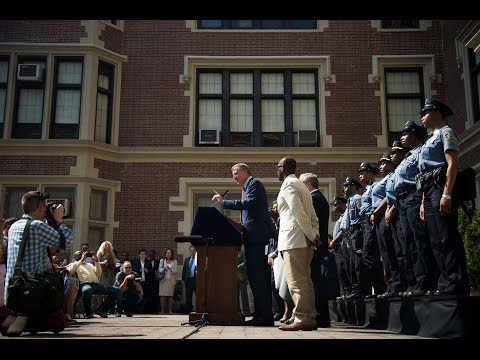 Mayor de Blasio & School Safety Agents Announces Tentative Contract Agreement