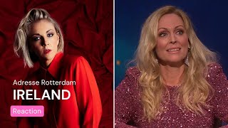 Norwegian TV about Ireland's Eurovision song   Lesley Roy - Maps   Eurovision Song Contest 2021
