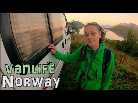 VAN LIFE EUROPE - IT WILL BE A MIRACLE IF THIS WORKS OUT - NORWAY