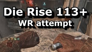 Die Rise Round 119+ World Record  (black ops 2 zombies)