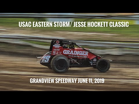 USAC Eastern Storm/ Jesse Hockett Classic at Grandview Speedway June 11, 2019