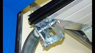 Налаштування нижнього і верхнього положення полотна автоматичних воріт DoorHan