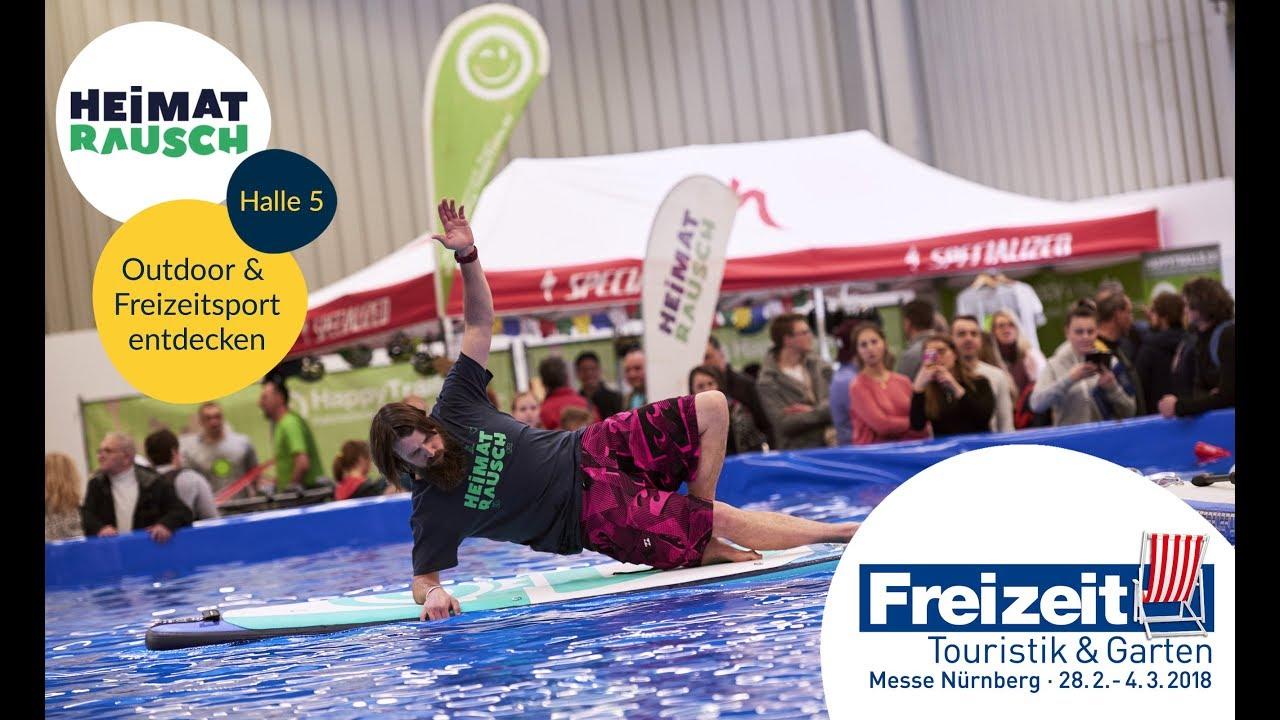 Heimatrausch Neuer Outdoorsportbereich Freizeit Messe Nürnberg
