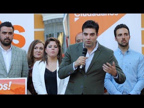 VÍDEO: Estuvimos en la presentación de la candidatura de Ciudadanos a la alcaldía de Lucena