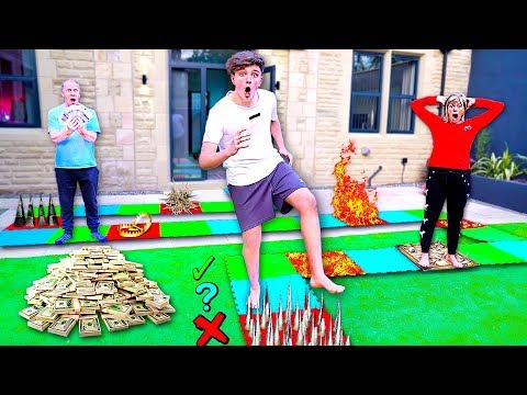 Dangerous GIANT Board Game Challenge - Win $10,000