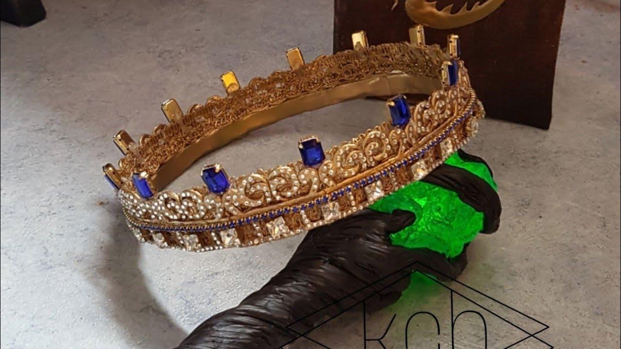 Descendants 3 Audrey Crown And Septer Maleficent Staff Diy