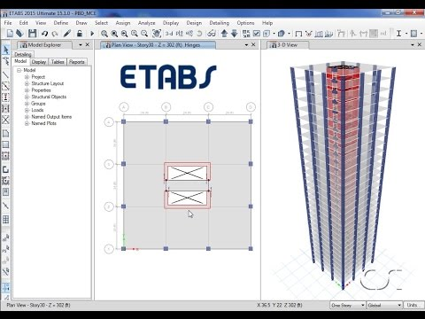 ETABS - 21 Performance-Based Design: Watch & Learn