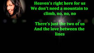 Natalie Cole - A little bit of heaven lyrics