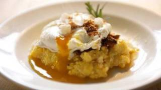 how to make polenta with mushrooms a poached egg for mother s day
