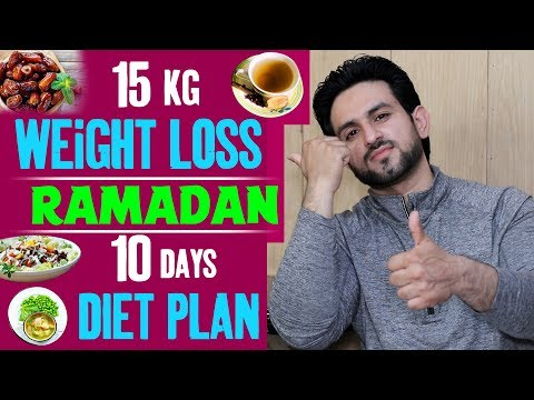 15 Kg Challenge Ramadan Weight Loss Best Diet Plan Urdu/Hindi