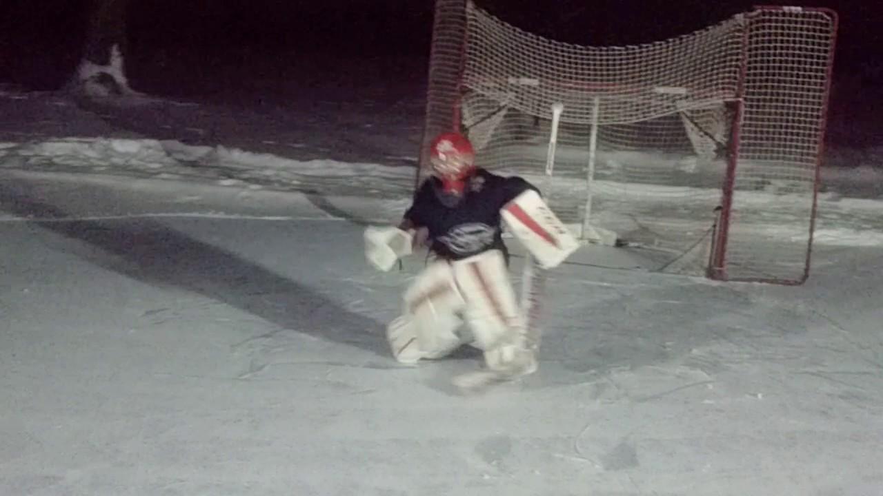 Amazing 8 Year Old Hockey Goalie Drills Video 2 Youtube