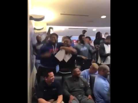 The UNC Football Team Was HYPE About A Delivery From Jordan