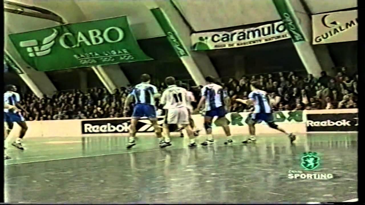 Andebol :: 22J :: Sporting - 22 x Porto - 19 de 1998/1999 - 1 Fase
