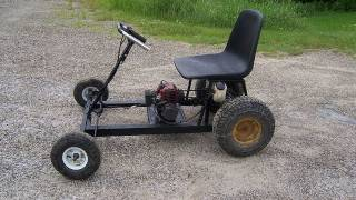 2-stroke Go-kart