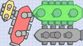 Doblons.io NEW INVISIBLE BOSS TANK NEW .iO Game Doblonsio Epic Gameplay!