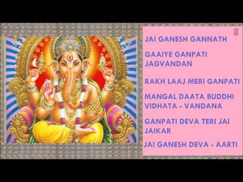 Mix - Best Ganesh Bhajans By Hariom Sharan, Mahendra Kapoor, Ahmed, MohdHussain I Full Audio Songs Juke
