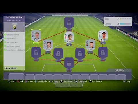 Fifa 18 Squad Building League And Nation Basic Sbc One Nation Midfield Cheap Prices Update