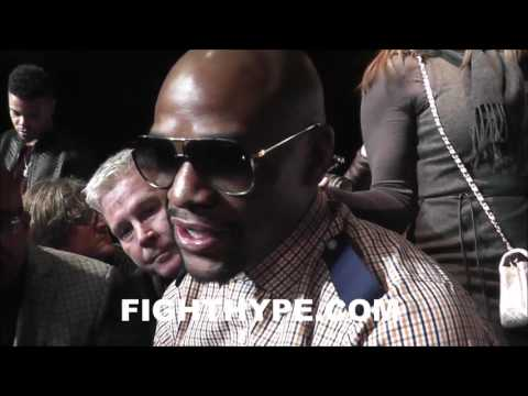 FLOYD MAYWEATHER 95-100% CERTAIN HE'LL NEVER FIGHT AGAIN; POINTS TO MUHAMMAD ALI AS REASON WHY