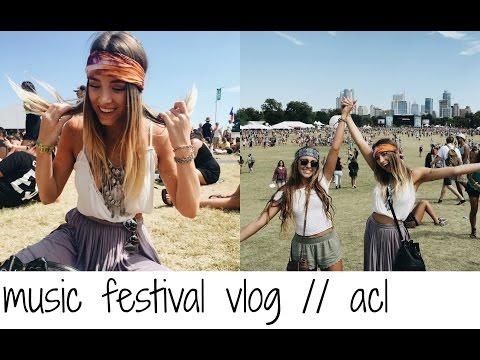 MUSIC FESTIVAL VLOG // ACL