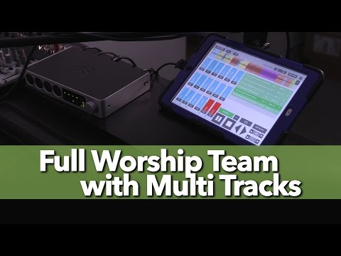 Simple Church Worship Band with Multi Tracks