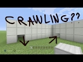 HOW TO CRAWL IN VANILLA MINECRAFT, NO MODS, NO COMMANDS, ONLY ELYTRA, GLITCH!!