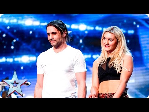 Видео: Ben Blaque and his crossbow are all fired up  Auditions Week 4  Britains Got Talent 2016