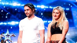 Ben Blaque and his crossbow are all fired up   Auditions Week 4   Britain's Got Talent 2016