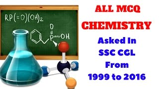 |Part-01| All MCQ Chemistry Asked in SSC CGL From 1999 to 2016