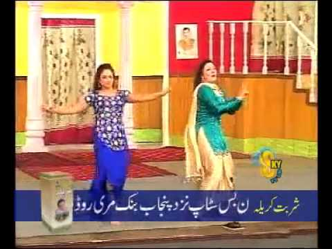 Khushboo With Nida Ch  Mujra