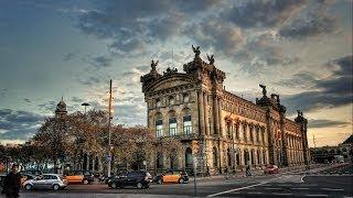 #888. Барселона (Испания) (очень красиво)(Самые красивые и большие города мира. Лучшие достопримечательности крупнейших мегаполисов. Великолепные..., 2014-07-03T19:30:58.000Z)