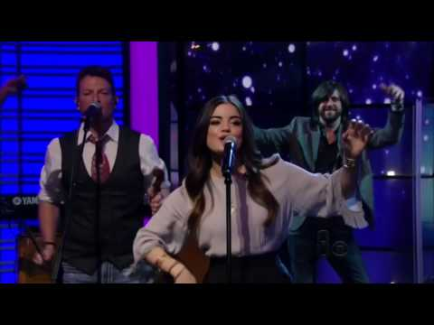 Lucy Hale- You Sound Good To Me -  Live with Kelly & Michael
