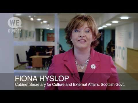 Dundee City of Culture Fiona Hyslop
